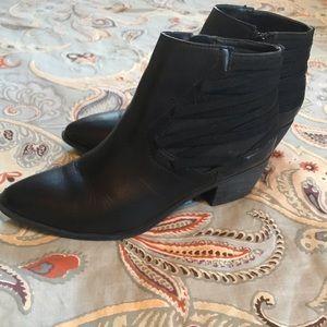 Sam Edelman Shoes - Sam Edelman Circus Black Leather Booties